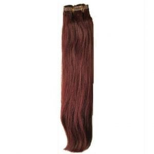 Clip In Extensions Malbec Plum