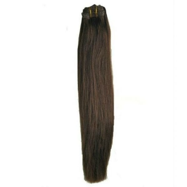 Mocha Brown Clip In Extensions
