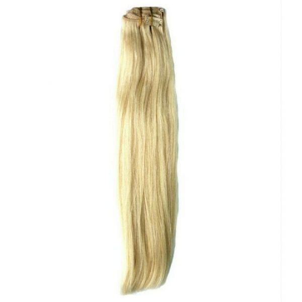 Clip In Extensions Russian Blonde